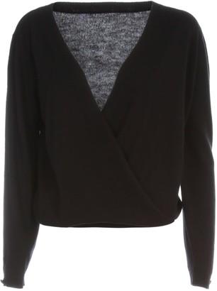 Twin-Set TwinSet Sweater V Neck On Back