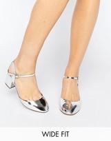 Asos SKYBOUND Wide Fit Heels
