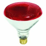 Feit PAR38 100 Watt Red Reflector Flood Light Bulbs 100 Watt 100PAR-R-1