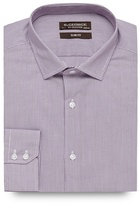 St George By Duffer Big And Tall Lilac Fine Stripe Slim Fit Shirt