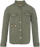 Zadig & Voltaire Girls Army Shirt