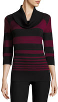 BY AND BY by&by Long Sleeve Cowl Neck Pullover Sweater-Juniors