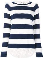 Steffen Schraut striped shirt-jumper