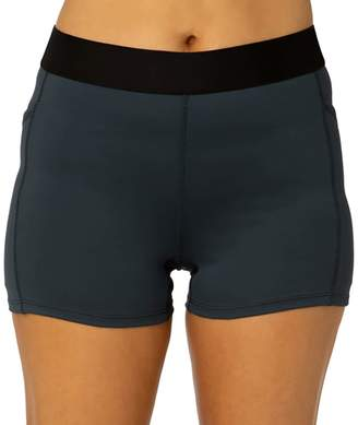 Spalding Women's Fitted Tech Midrise Shorts