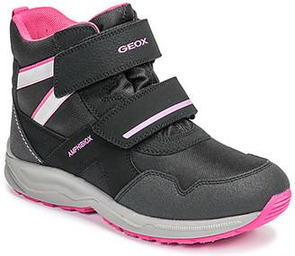 Geox J KURAY GIRL B ABX girls's Snow boots in Black