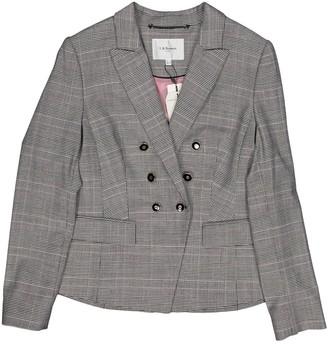 LK Bennett Grey Wool Jacket for Women
