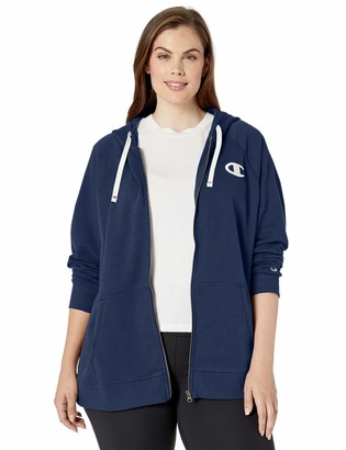 Champion Women's Plus-Size Heritage French Terry Zip Hoodie