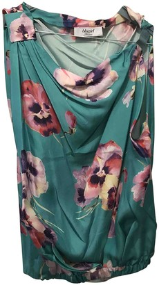 Blumarine Turquoise Silk Top for Women