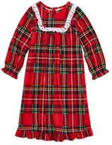 Asstd National Brand Long Sleeve Nightgown-Toddler Girls