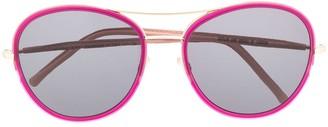 Cutler & Gross M1034 round sunglasses