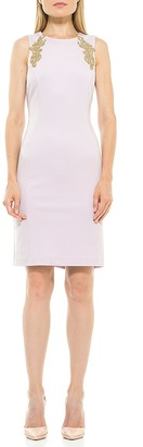 Alexia Admor Chloe Embellished Sleeveless Sheath Dress