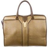 Saint Laurent Large Perforated Cabas Chyc Bag