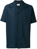Cmmn Swdn shortsleeved shirt - men - Silk/Cotton - 46