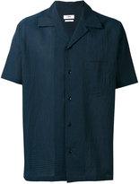 Cmmn Swdn shortsleeved shirt - men - Silk/Cotton - 50
