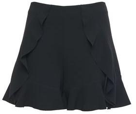 Cinq à Sept Saphir Ruffled Crepe Shorts