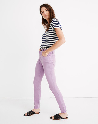"""Madewell 9"""" Mid-Rise Skinny Jeans: Garment-Dyed Edition"""