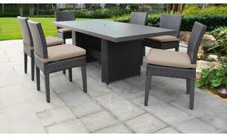 Tegan Sol 72 Outdoor 7 Piece Dining Set with Cushions Sol 72 Outdoor