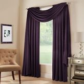 Bed Bath & Beyond Midtown Window Scarf Valance in Plum