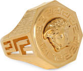 Versace Medusa Greca Gold-plated Ring