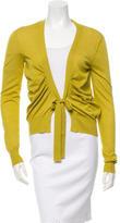 Etro Cashmere & Silk Long Sleeve Cardigan
