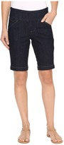 Jag Jeans Ainsley Pull-On Bermuda Comfort Denim in Dark Shadow Women's Shorts