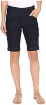Jag Jeans Ainsley Pull-On Bermuda Comfort Denim in Dark Shadow