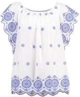 Gap Print Tshirt optic white