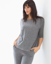 Soma Intimates Cashmere/Wool Blend Boxy Sweater