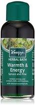 Kneipp Herbal Bath, Warmth & Energy, Spruce & Pine, 3.38 fl. oz.