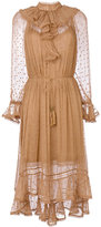Zimmermann ruffled neck dress