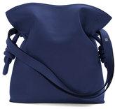Loewe Flamenco Knot Small Bucket Bag, Marine