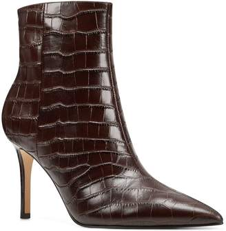 Nine West Leather Pointed Toe Booties - Fhayla
