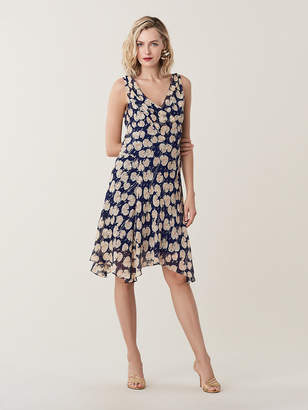 Diane von Furstenberg Dita Silk Knee-Length Dress