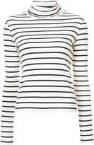 Veronica Beard striped roll neck jumper