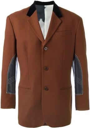 Jean Paul Gaultier Pre-Owned contrast lapel blazer