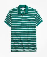 Brooks Brothers Original Fit Multi-Texture Stripe Polo Shirt
