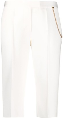Givenchy Chain-Embellished Knee-Length Shorts