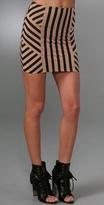 Nina African Stripe Skirt