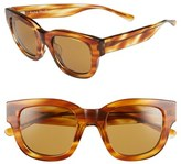 Acne Studios Women's 'Frame' 46Mm Sunglasses - Light Turtle/ Brown
