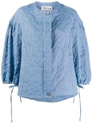 Teija Takki tie-cuff jacket