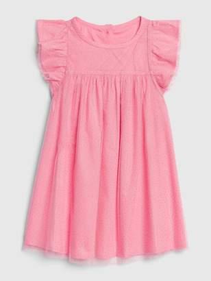 Gap Toddler Tulle Flutter Sleeve Dress