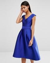Oasis Satin A-Line Dress