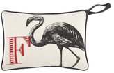 Thomas Paul F Flamingo Door Pillow