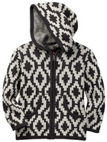 Tea Collection Guacho Geo Hooded Sweather (Toddler & Little Boys)