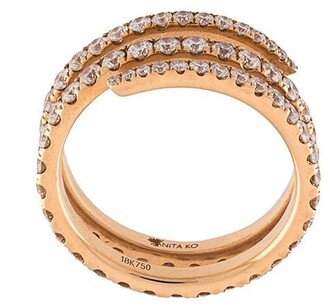 Anita Ko Diamond Coil Ring