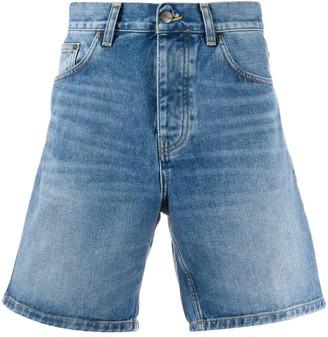 Carhartt Wip Flared Denim Shorts