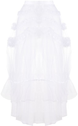 Comme des Garcons Tiered Tulle Skirt