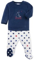 Petit Bateau Baby boys pajamas with feet
