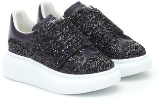 ALEXANDER MCQUEEN KIDS Glitter sneakers