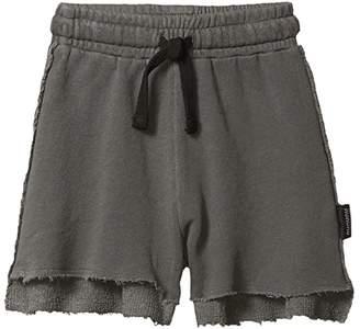 Nununu 2 Lengths Sweatshorts Vintage (Little Kids/Big Kids) (Vintage Grey) Boy's Shorts